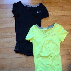 Nike Tops - 2 NWOT Nike Pro Dri-Fit TShirts